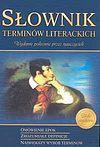 Słownik terminów literackich.
