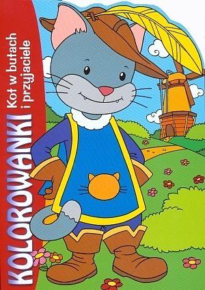 Kot W Butach I Przyjaciele Kolorowanki Gildiapl Księgarnia