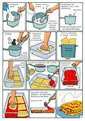 Krój, gotuj, wow - 50 kulinarnych przygód krok po kroku