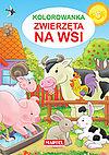 Jarosław Żukowski. Zwierzęta na wsi. Kolorowanka.