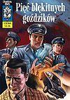 Kapitan Żbik - 54 - Pięć błękitnych goździków (okładka A).