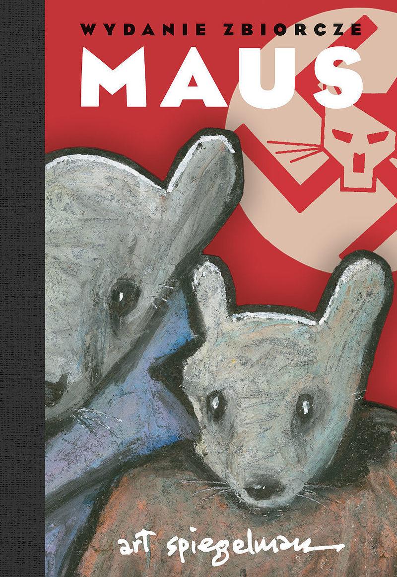 """Komiks """"Maus. Opowieść ocalałego. Wydanie zbiorcze"""""""