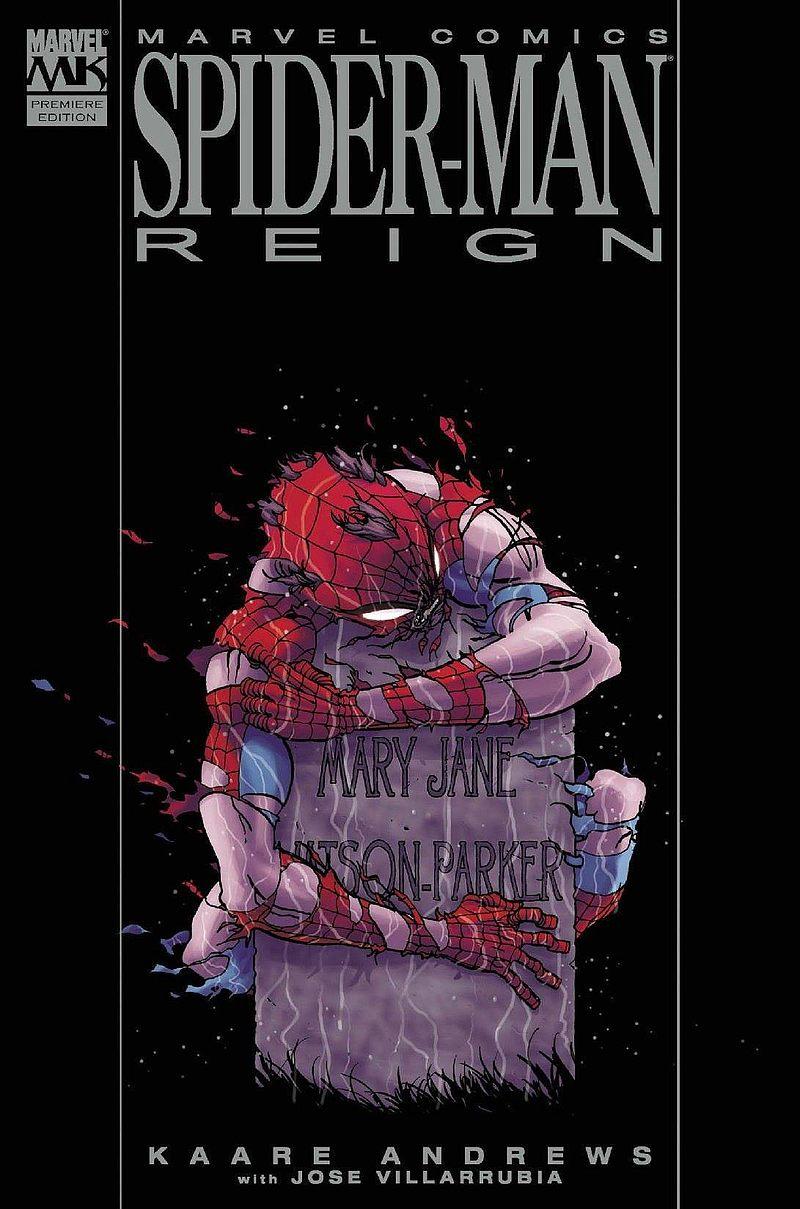 Okładka komiksu Spider-Man: Władza