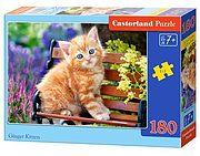 Puzzle 180 kotek na ławce