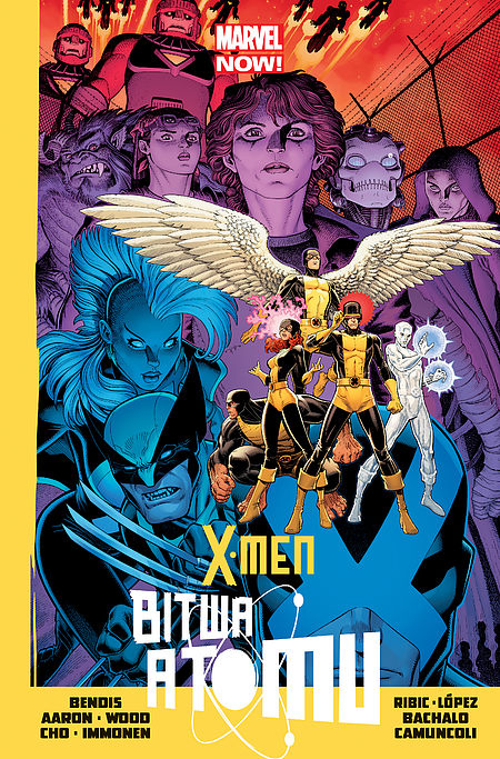 Okładka komiksu X-Men: Bitwa Atomu