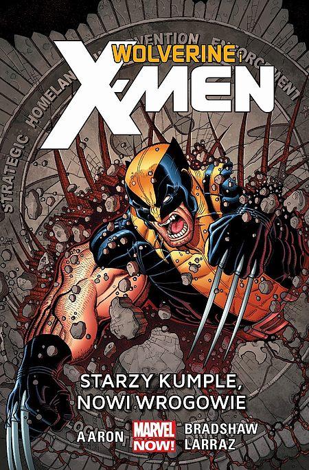 Okładka komiksu Wolverine i X-Men tom 4 - Starzy kumple,nowi wrogowie