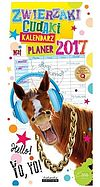 Kalendarz 2017 PLANER ZWIERZAKI CUDAKI