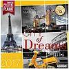 Kalendarz ścienny 2017 Classic Q CITY OF DREAMS-MIASTA MARZEŃ