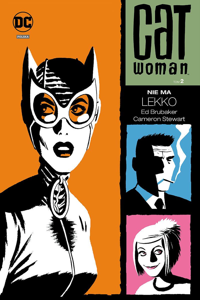 Okładka komiksu Catwoman tom 2 - Nie ma lekko