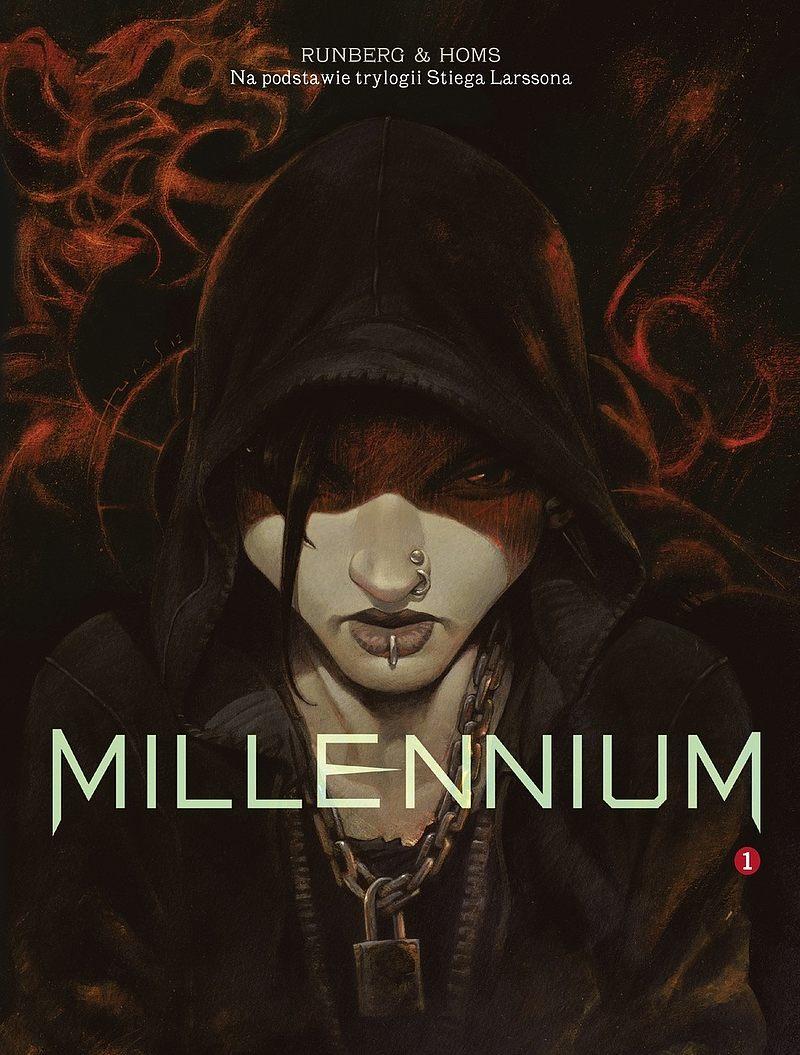 Okładka komiksu Millennium tom 1 - Mężczyźni, którzy nienawidzą kobiet