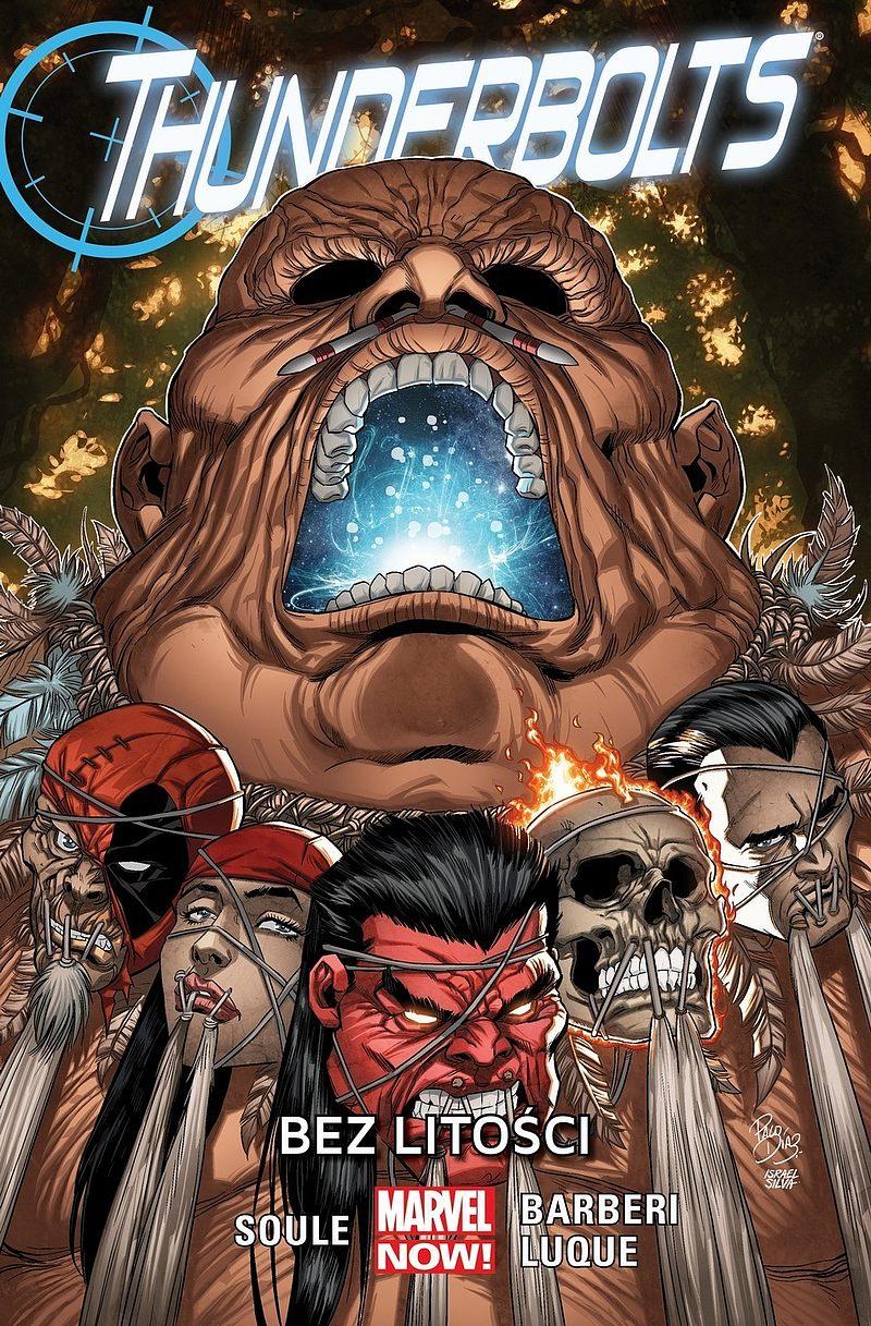 Okładka komiksu Thunderbolts tom 4: Bez litości