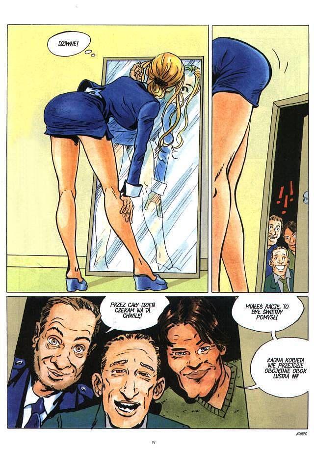 Świetne komiksy porno