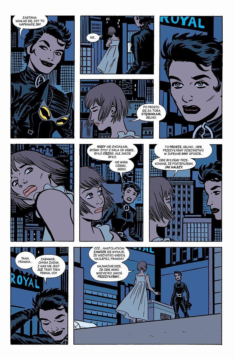 Strona komiksu Catwoman tom 2 - Nie ma lekko