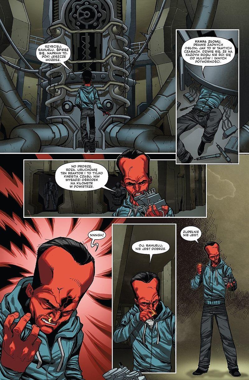 Strona komiksu Thunderbolts tom 4: Bez litości
