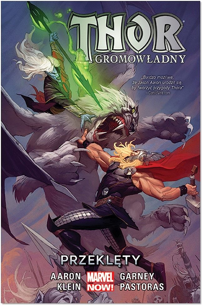 Okładka komiksu Thor Gromowładny tom 3: Przeklęty