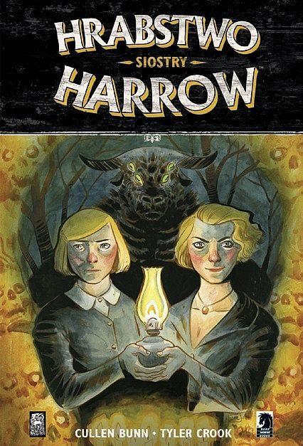 Okładka komiksu Hrabstwo Harrow tom 2 - Siostry