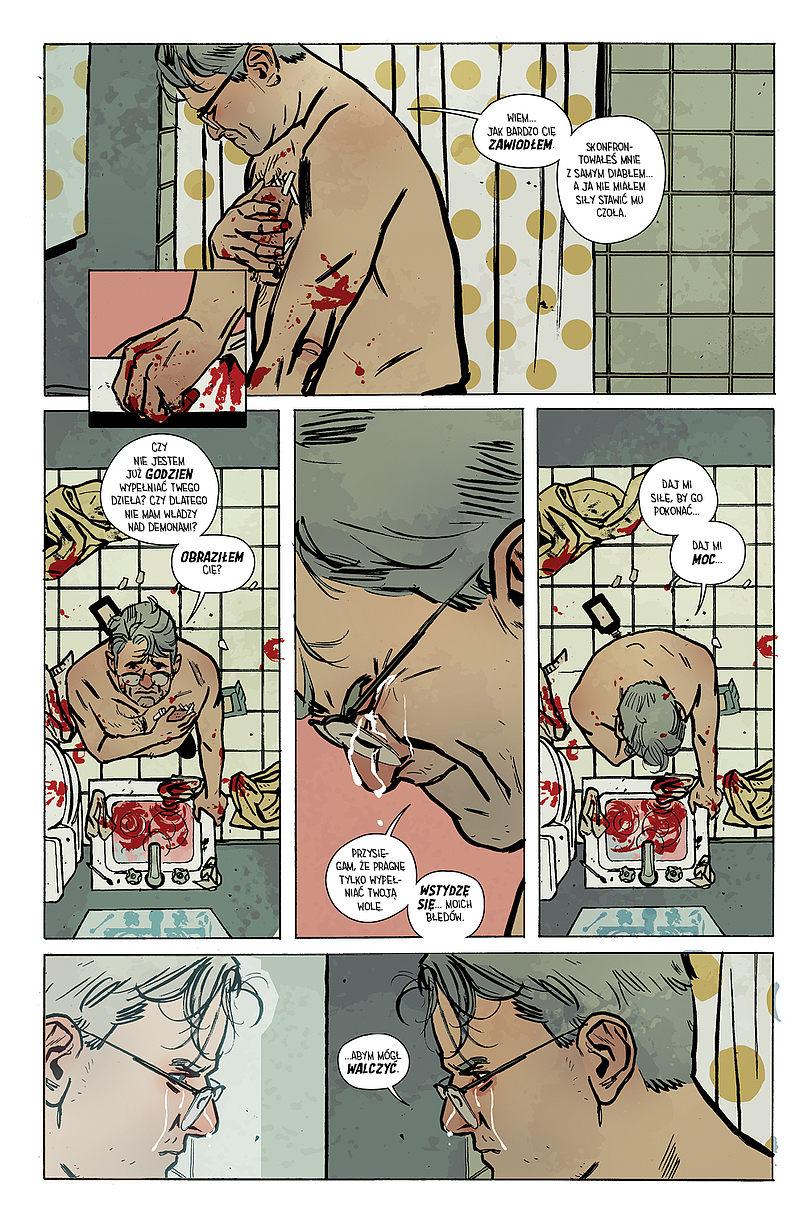 Strona komiksu Outcast tom 2 - Bezkresne, nieprzebyte zgliszcza