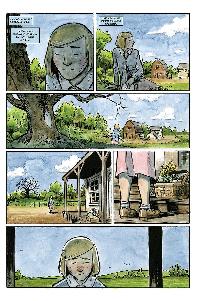 Strona komiksu Hrabstwo Harrow tom 2 - Siostry