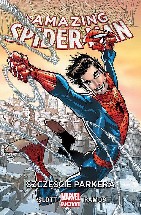Okładka komiksu Amazing Spider-Man tom 1 - Szczęście Parkera