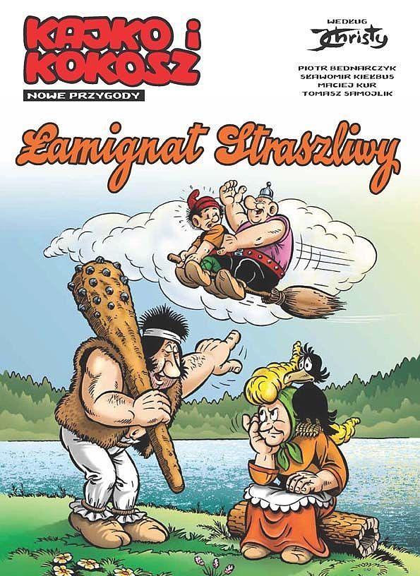 Okładka komiksu Kajko i Kokosz: Nowe Przygody tom 2 - Łamignat Straszliwy