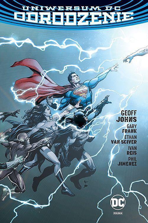 Okładka komiksu Uniwersum DC - Odrodzenie