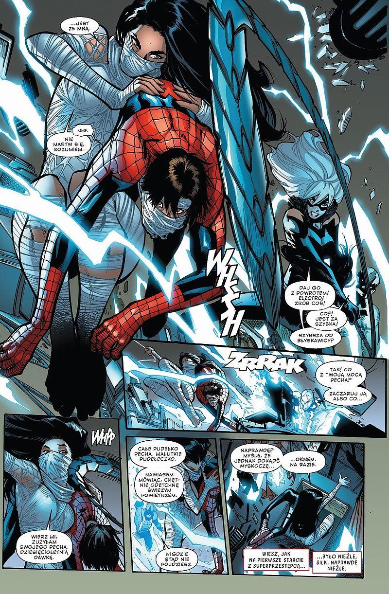 Strona komiksu Amazing Spider-Man tom 1 - Szczęście Parkera