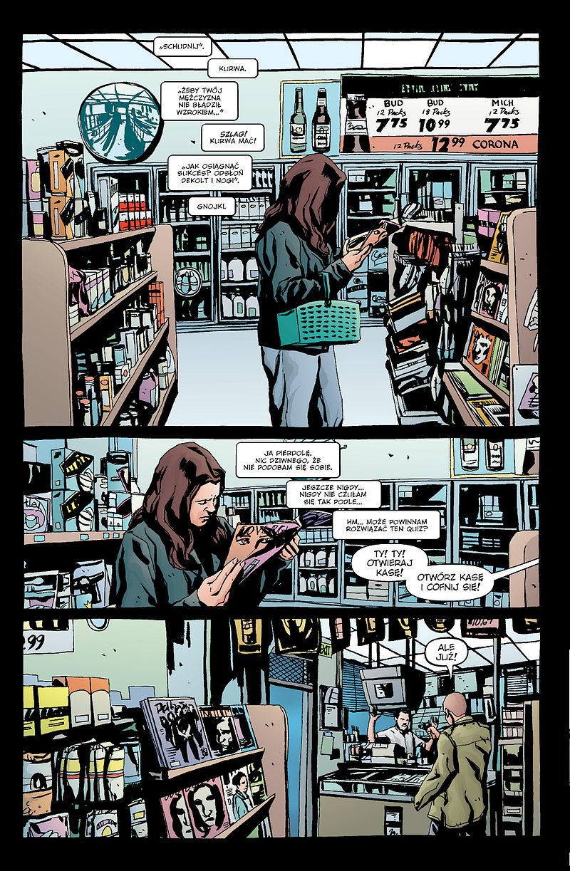 Strona komiksu Jessica Jones: Alias tom 3
