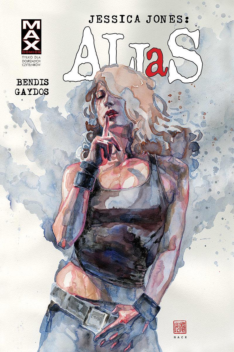 Okładka komiksu Jessica Jones: Alias tom 3