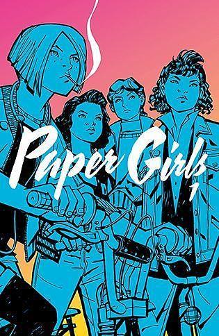 Okładka komiksu Paper Girls tom 1