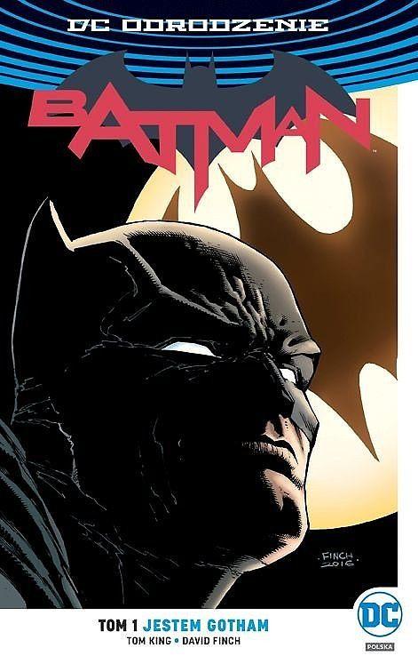 Okładka komiksu Batman tom 1 - Jestem Gotham