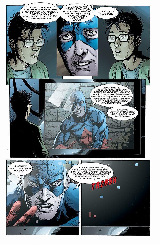 Strona komiksu Uniwersum DC - Odrodzenie