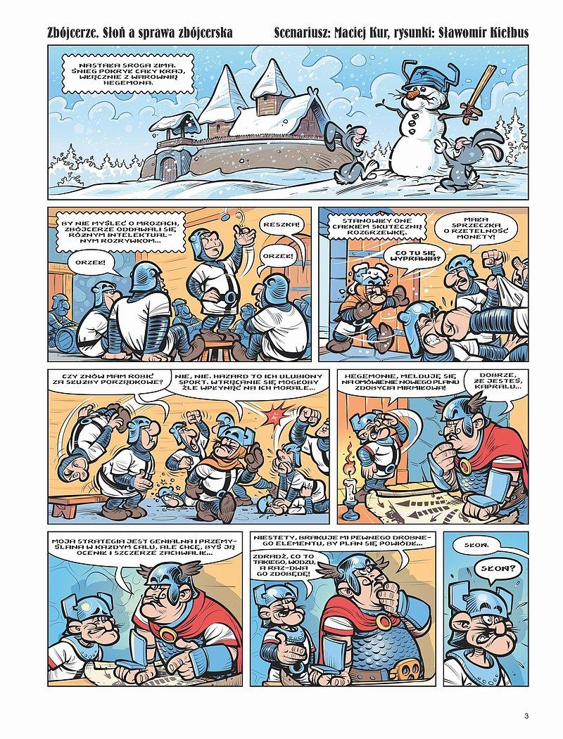Strona komiksu Kajko i Kokosz: Nowe Przygody tom 2 - Łamignat Straszliwy