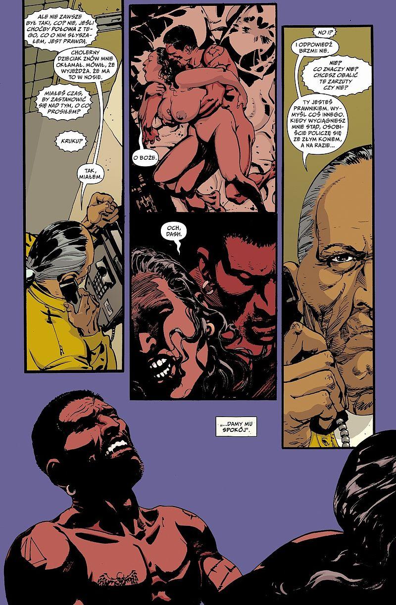 Strona komiksu Skalp tom 5