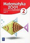 Matematyka 2001 2 Zeszyt ćwiczeń. Część 1.