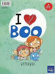 I love Boo Język angielski Poziom A Wyprawka