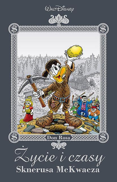 Okładka komiksu Życie i czasy Sknerusa McKwacza