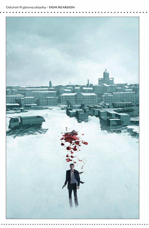 Strona komiksu James Bond - Warg