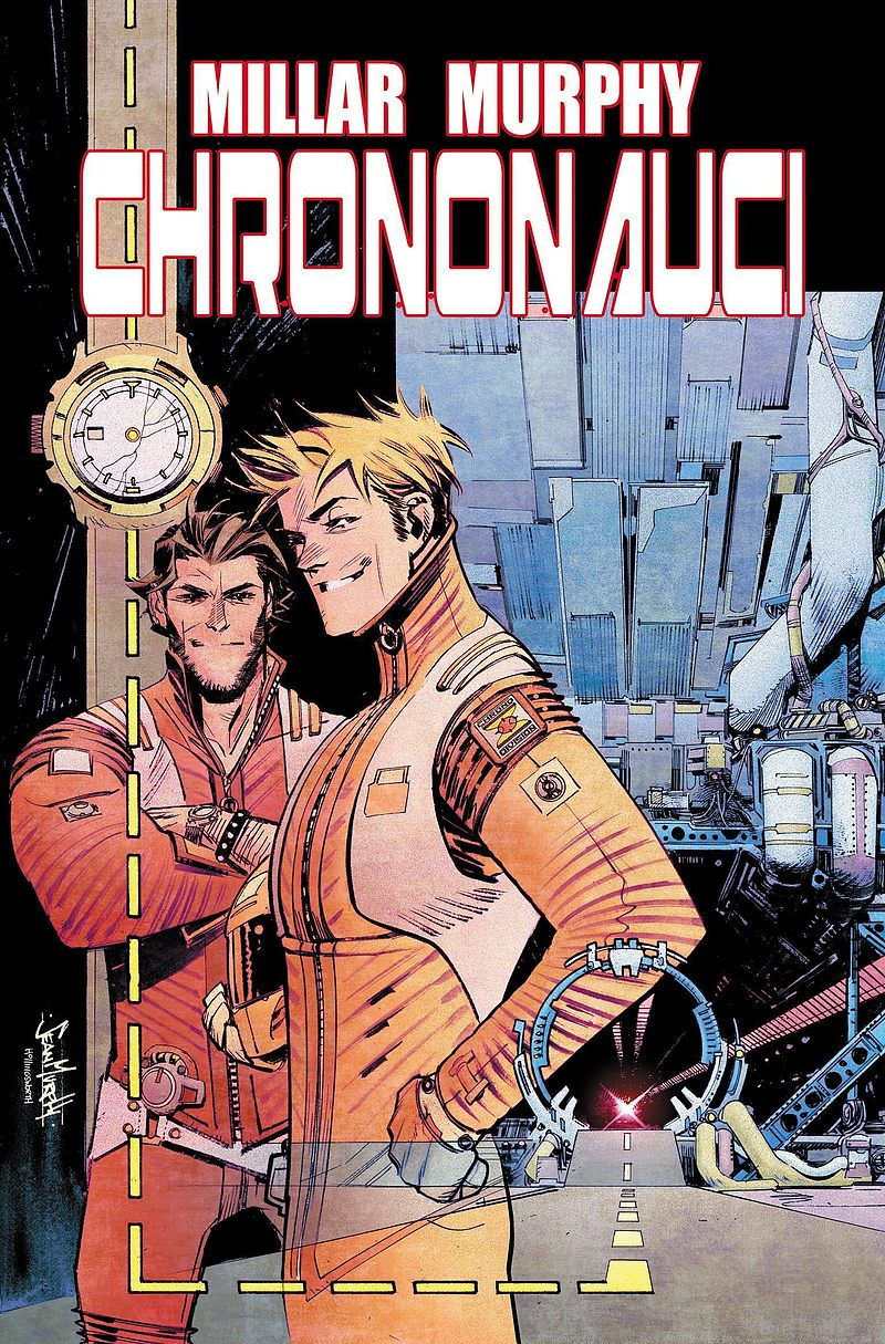 Okładka komiksu Chrononauci tom 1
