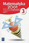 Matematyka 2001 3 Zeszyt ćwiczeń. Część 1.