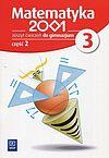 Matematyka 2001 3 Zeszyt ćwiczeń. Część 2.