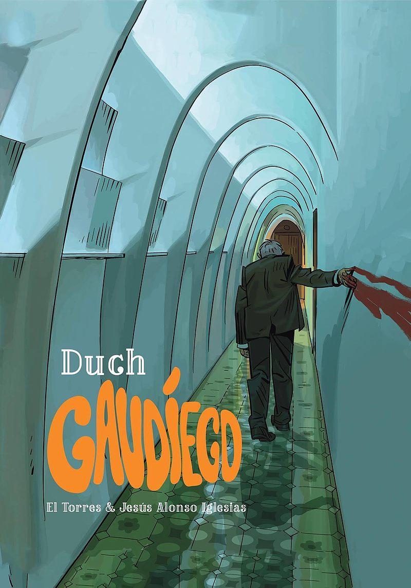 Okładka komiksu Duch Gaudiego
