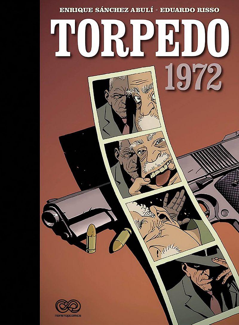 Okładka komiksu Torpedo - 1972