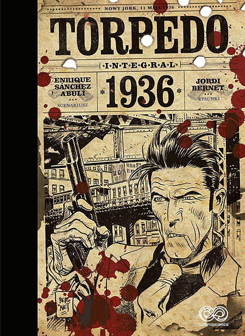 Okładka komiksu Torpedo 1936
