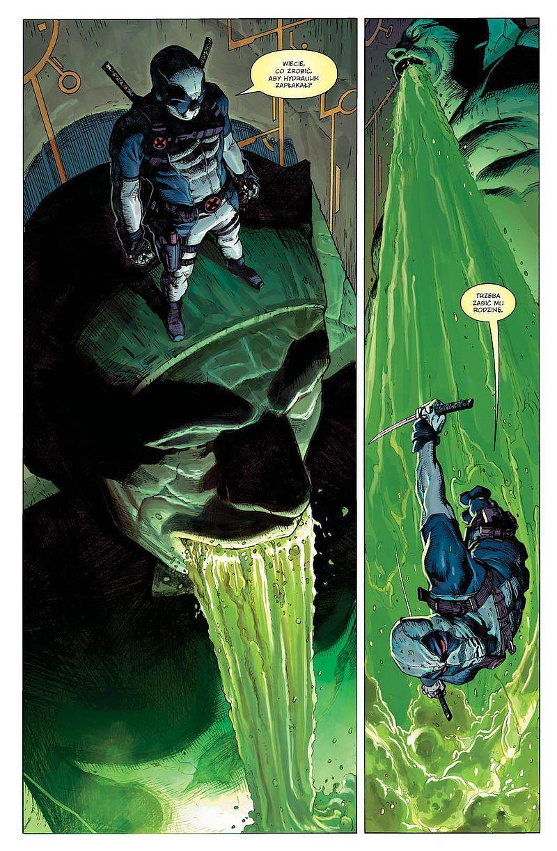 Strona komiksu Uncanny X-Force tom 1 - Sposób na Apocalypse'a