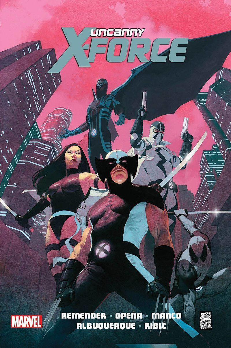 Okładka komiksu Uncanny X-Force tom 1 - Sposób na Apocalypse'a