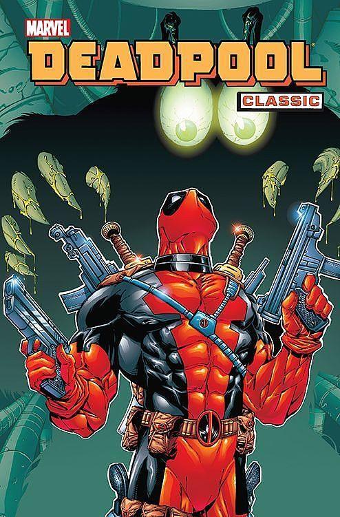 Okładka komiksu Deadpool Classic tom 3