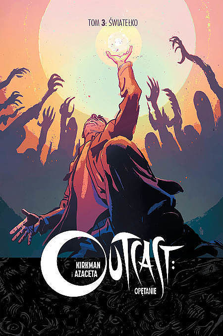 Okładka komiksu Outcast tom 3 - Światełko