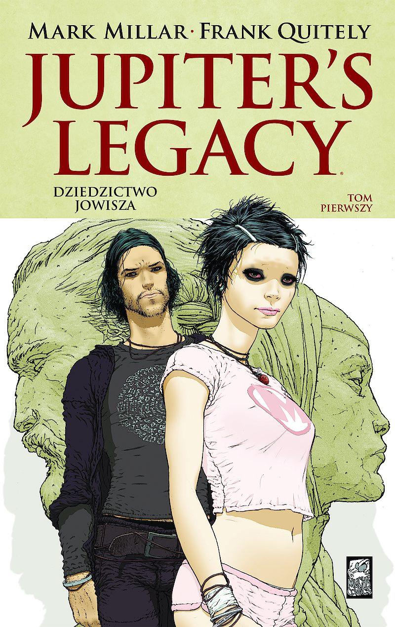 Okładka komiksu Jupiter's Legacy - Dziedzictwo Jowisza tom 1