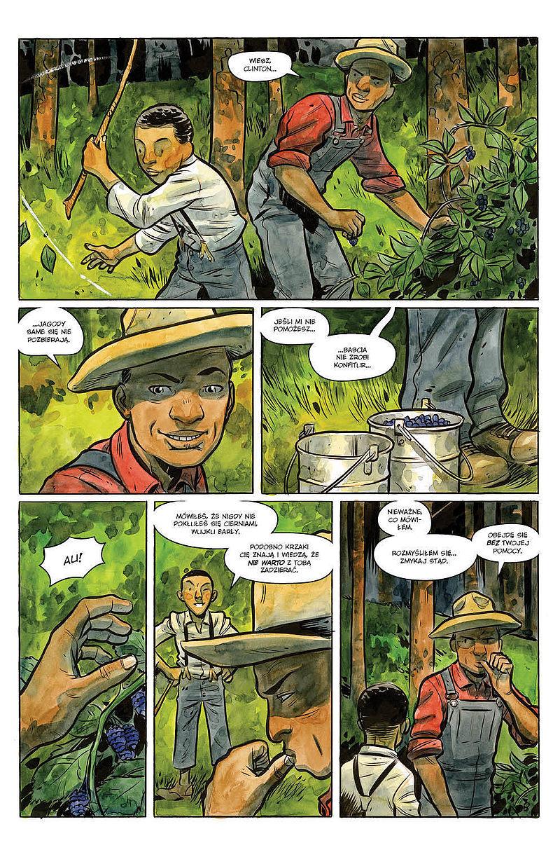 Strona komiksu Hrabstwo Harrow tom 3 - Węże