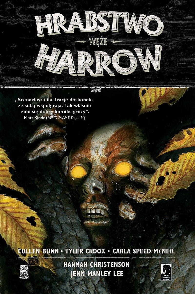 Okładka komiksu Hrabstwo Harrow tom 3 - Węże